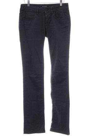 Karl Lagerfeld Pantalone a vita bassa marrone scuro stile casual