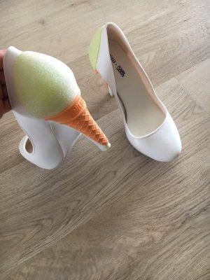 Karl Lagerfeld Ice Cream Pumps aus Gummi 38 NEU