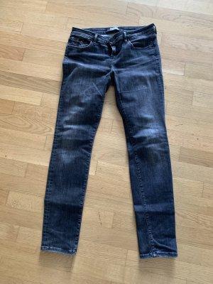 Karl Lagerfeld Jeans a sigaretta grigio-grigio scuro
