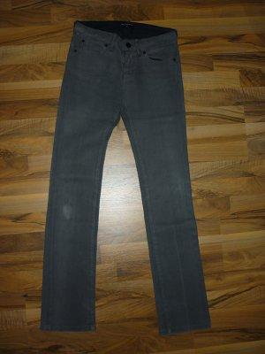 KARL LAGERFELD Jeans Hose grau 25/34 straight gerade Röhre 34 XS NP 225€