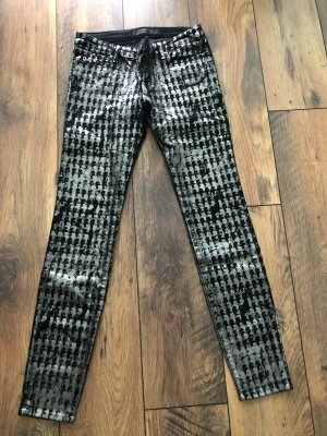 Karl Lagerfeld Jeans - neu schwarz/silber Gr. 30