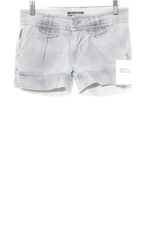 Karl Lagerfeld Jeansshorts hellgrau Casual-Look