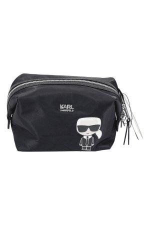 Karl Lagerfeld Mini sac noir fibre textile