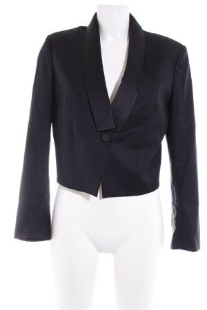 Karl Lagerfeld Kurz-Blazer schwarz Business-Look