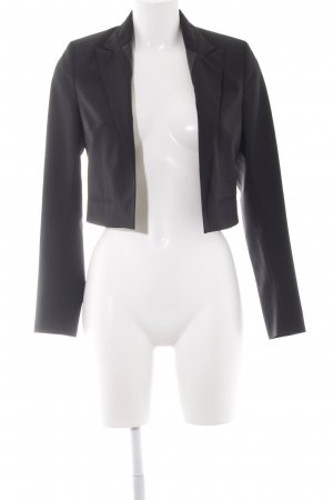 Karl Lagerfeld Korte blazer zwart casual uitstraling