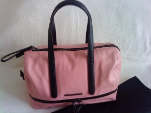 Karl Lagerfeld * Leder Handtasche * rosa/pink * TOP * ein Traum
