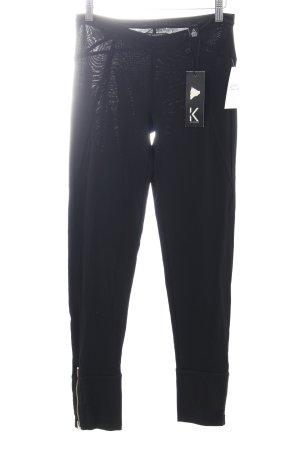 Karl Lagerfeld Legging noir style athlétique