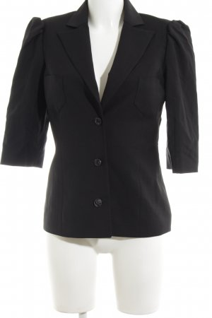Karl Lagerfeld Long-Blazer schwarz Business-Look