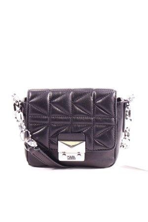 """Karl Lagerfeld Minitasche """"K/Quilted Crossbody Black"""" schwarz"""