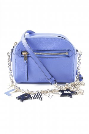 Karl Lagerfeld Mini Bag steel blue casual look