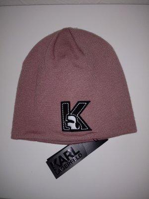 Karl Lagerfeld Cap dusky pink-pink