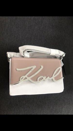 Karl Lagerfeld neue Handtasche in rosa