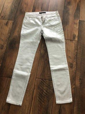 Karl Lagerfeld - neue Jeans weiß/silber Gr. 30