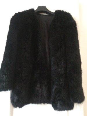 Karl Lagerfeld Oderesa Fake Fur Coat 36 neu