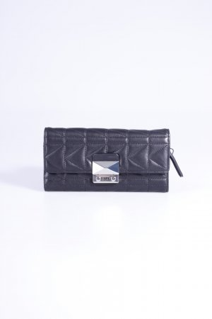 Karl Lagerfeld Portemonnaie Quilted Lambskin Flap Over Steppmuster