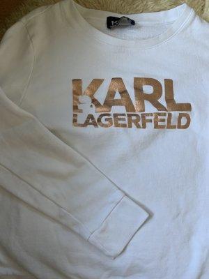 Karl Lagerfeld Pull long blanc