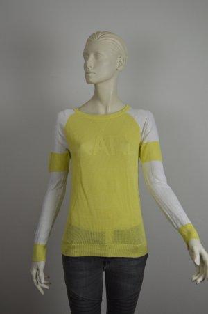 Karl Lagerfeld Pullover gelb, Gr. XS 34 / 36
