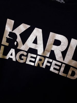 Karl Lagerfeld Pullover schwarz
