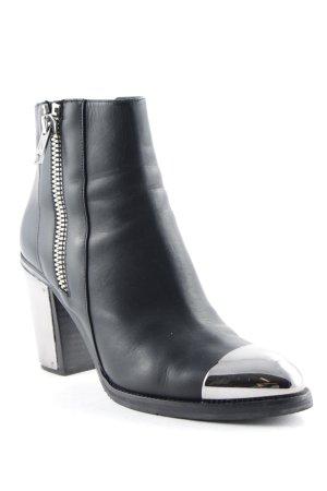 Karl Lagerfeld Reißverschluss-Stiefeletten schwarz Elegant
