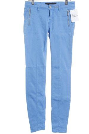 Karl Lagerfeld Röhrenjeans kornblumenblau Casual-Look