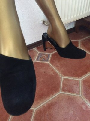 Karl Lagerfeld Mules black-bronze-colored