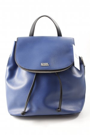 "Karl Lagerfeld Zaino per la scuola ""Beach Backpack Ink Blue"""