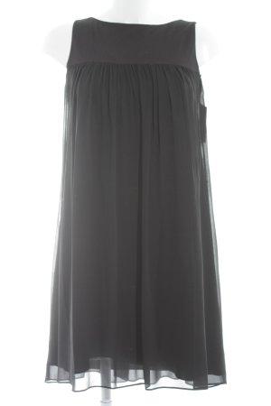 Karl Lagerfeld schulterfreies Kleid schwarz Empire-Look