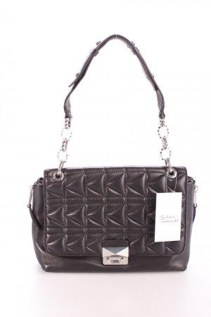 Karl Lagerfeld Schultertasche Kuilted Shoulderbag Black