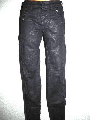 Karl Lagerfeld Jeans cigarette noir tissu mixte