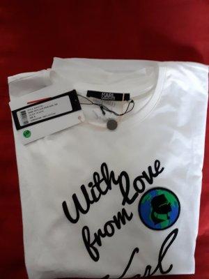 Karl Lagerfeld Shirt-with love from Karl Gr.XL neu