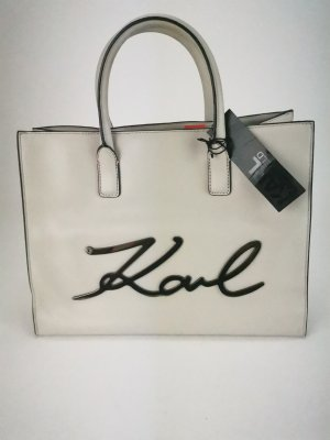 Karl Lagerfeld Shopper oatmeal