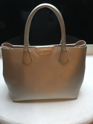 Karl Lagerfeld Shopper silver-colored-light grey leather