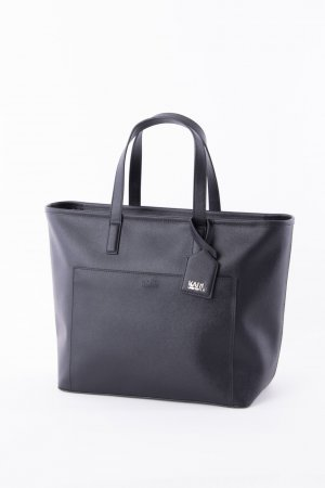 Karl Lagerfeld Shopper black-silver-colored leather