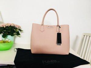 Karl Lagerfeld shopper Tasche rosa