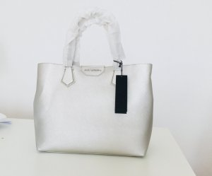 Karl Lagerfeld Borsa shopper grigio chiaro-argento
