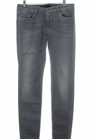 Karl Lagerfeld Slim Jeans hellgrau Jeans-Optik