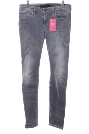 Karl Lagerfeld Slim Jeans hellgrau Casual-Look