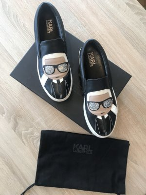 Karl Lagerfeld slip on sneaker