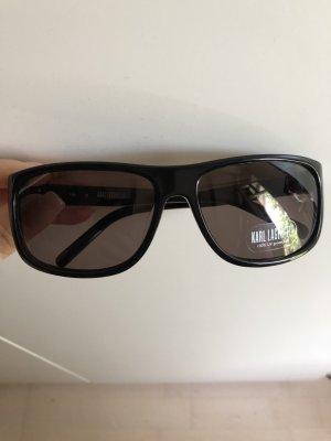 Karl Lagerfeld Zonnebril zwart-zilver