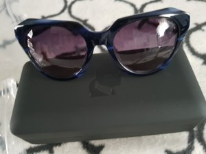 Karl Lagerfeld Glasses dark blue acetate