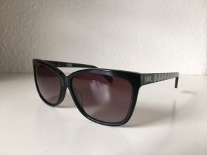 Karl Lagerfeld Angular Shaped Sunglasses black-white