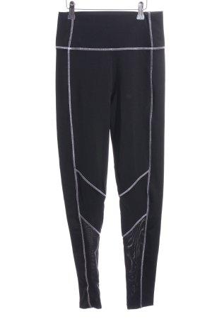 Karl Lagerfeld Sporthose schwarz-weiß schlichter Stil