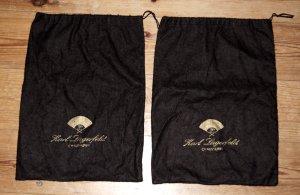 Karl Lagerfeld Staubbeutel 2x (f. Stiefeletten) Schwarz Gold