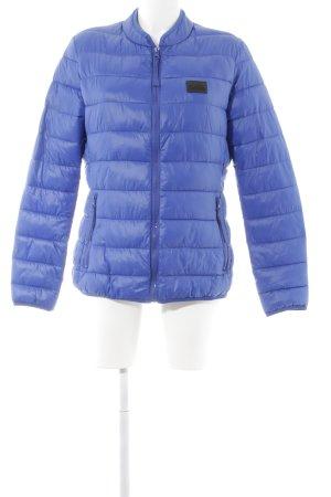 Karl Lagerfeld Steppjacke blau Steppmuster Casual-Look