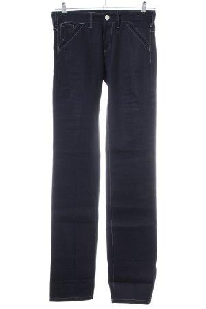 Karl Lagerfeld Straight-Leg Jeans schwarz Casual-Look