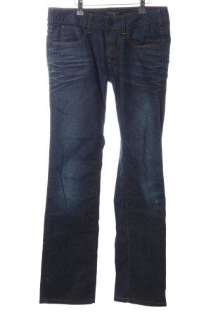 Karl Lagerfeld Straight-Leg Jeans blau Casual-Look