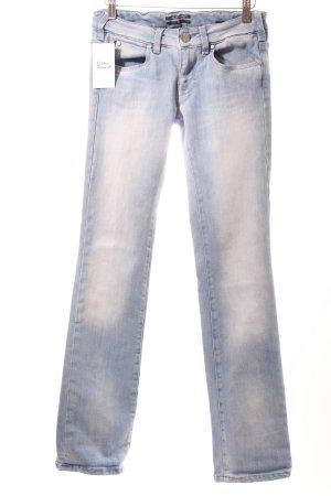 Karl Lagerfeld Straight-Leg Jeans himmelblau Casual-Look