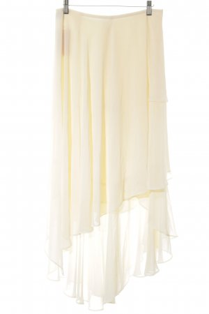 Karl Lagerfeld Broomstick Skirt cream elegant