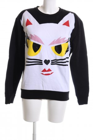 Karl Lagerfeld Sweatshirt Motivdruck Casual-Look
