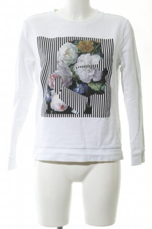 Karl Lagerfeld Sweatshirt Schriftzug gedruckt Casual-Look